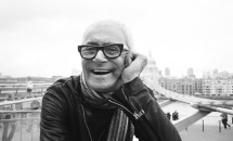 Black and White picture of vidal sassoon