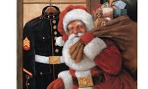 Picture of Santa with a sack of toys
