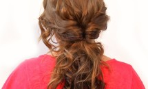 Wavy Up-Do hair style
