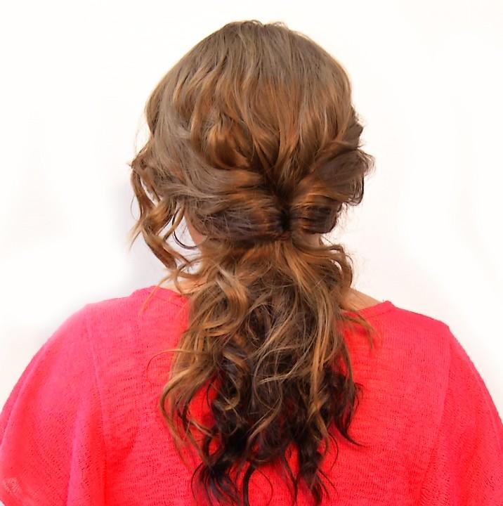 Wavy Up-Do hair style