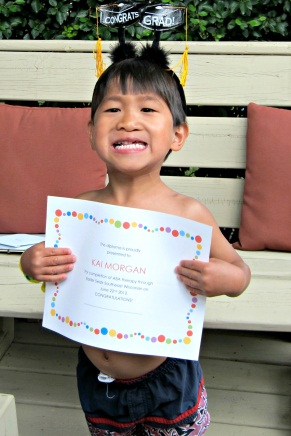 Kai with Easter Seals