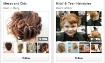 collage of Pinterest Hairstyles