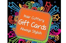 Email a Hair Cuttery Gift Card