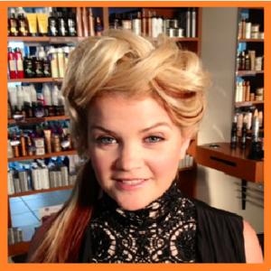 Semi-loose braided hair