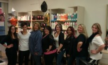 Several Stylist in the salon