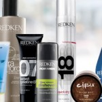 Redken and Cibu hair products