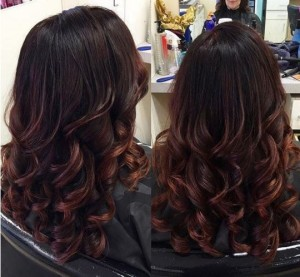 Get this look! Just ask your stylist for a blowout with an curling iron finish.
