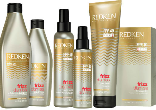 Redken Frizz dismiss product line