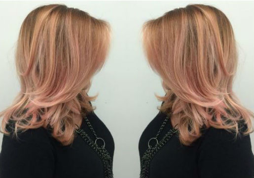 rose gold, blonde, trendy, fall