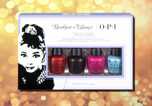 OPI Breakfast at Tiffany's mini nail polishes