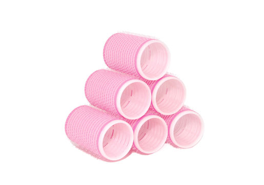 Stack of velcro rollers