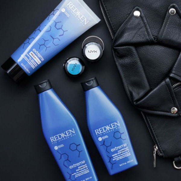Redken Extreme shampoo conditioner and mega mask
