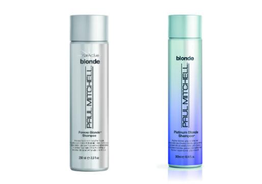 Paul Mitchell Blonde & platinum blonde shampoos