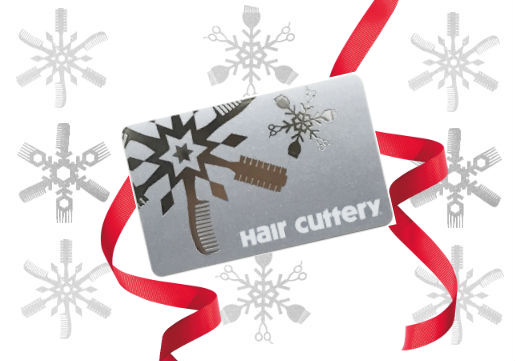 Hair cuttery holiday gift card