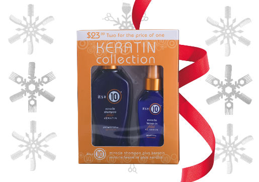 It's a 10 Keratin Duo gift set