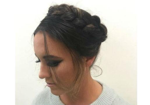 boho milkmaid braids festival hair