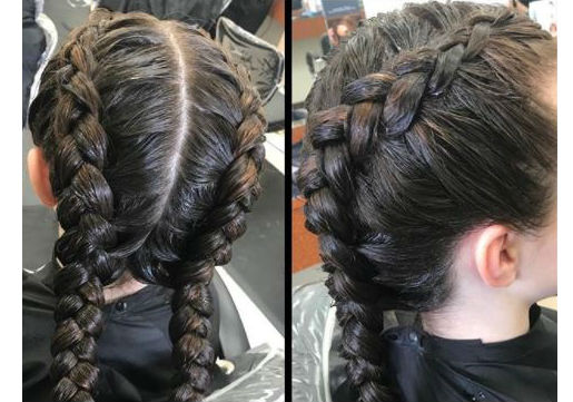 dutch braids festival hair