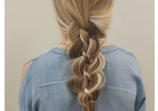 loose braid festival hair