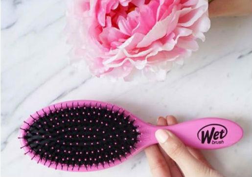 Pink Wet Brush