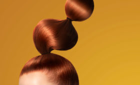 Bubble ponytail from hair cuttery