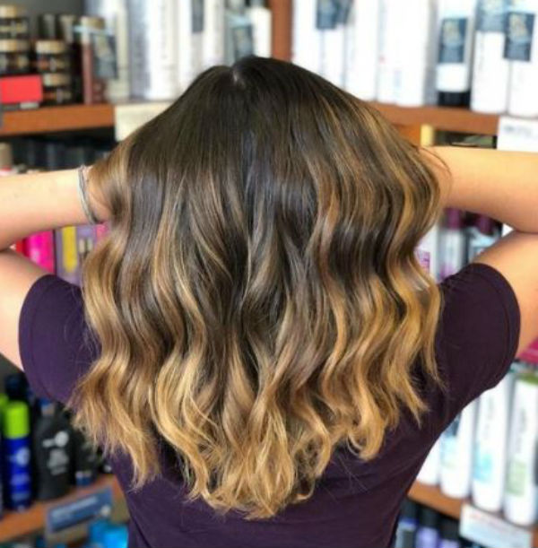 Balayage blonde from Hair Cuttery