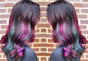 Festival Hairstyles galaxy hair color from hair cuttery