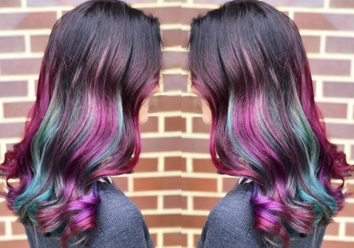 galaxy hair color from hair cuttery