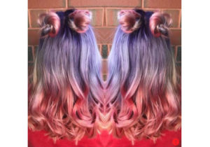 Festival Hairstyles pastel unicorn hair from hair cuttery