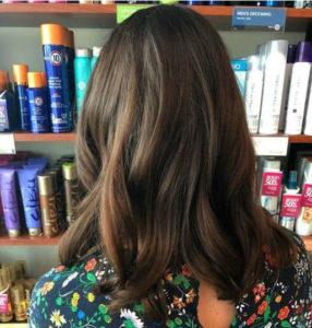 Brunette trend- sable brown