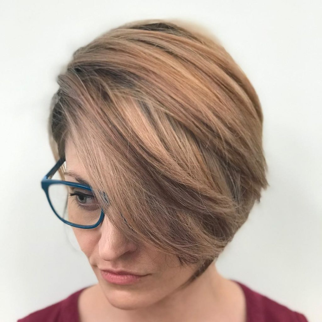 Long Pixie for thin hair