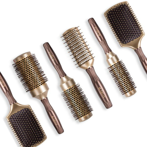 various brushes at Hair Cuttery