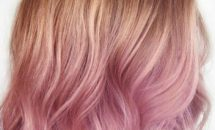 Dusty Pastels pink ombre at Hair Cuttery