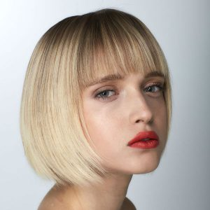 spring trends bob with bangs at Hair Cuttery