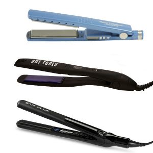 hot tools flat irons at hair cuttery