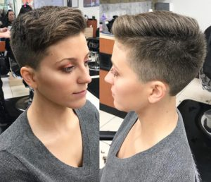 Pixie cut for prom from hair cuttery