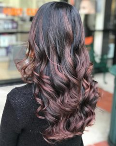 Curls for long hair prom styles from Hair Cuttery