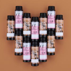 redken haircolor bottles