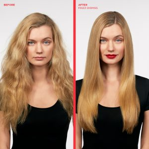 Frizz Dismiss before and after picuture