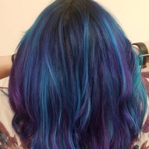 pulp riot blue and purple hair color