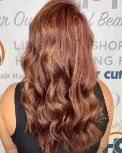 Balayage Trends redhead