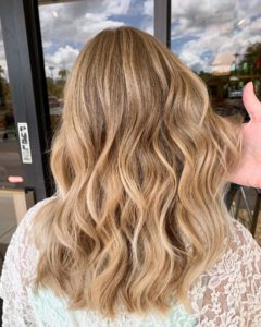 Balayage trends blonde