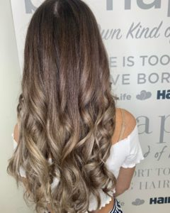 Fall hair trends- long bronde balayage
