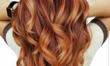 Pumpkin Spice hair color