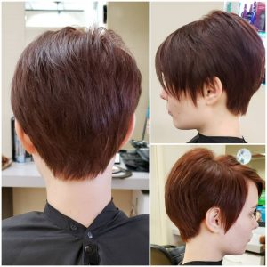 Fall Hair Trends- Red pixie cut