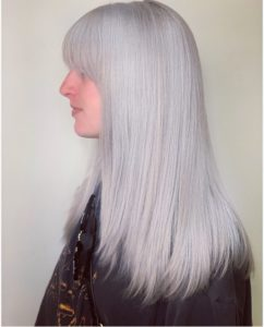 Single Process Icy blonde