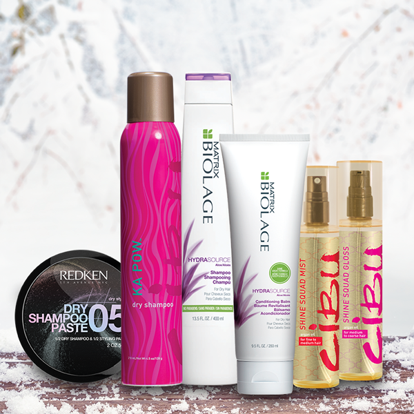 Winter Hair products from REDKEN, Cibu and Matrix Biolage