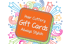 Email a Hair Cuttery Gift Card