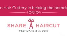 Share A Haircut Banner