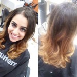 Ombre blowout