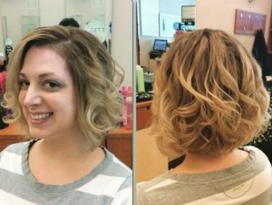 Add some bouncy curls for some oomph!